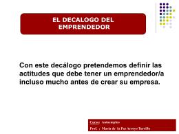 también en PowerPoint - Portal de Empleo Sierra de las Nieves
