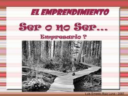 Presentación Luis Ruiz