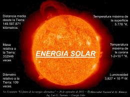 Ing. Luis E. Fauroux ~ Energía Solar