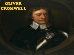OLIVER CRONWELL - Ciencias Soci@les