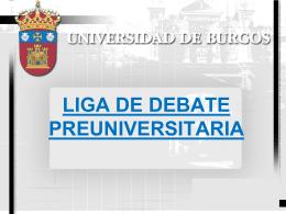 Liga de Debate Preuniversitaria