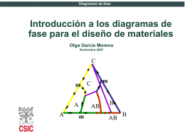 Tema1.MaterialesCERAMICOS.Diagramas de Fase