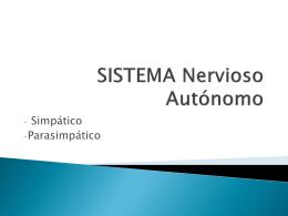 sistema nervioso autonomo.