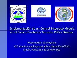 Impacto Socio - Económico de las Migraciones de Nicaragua hacia