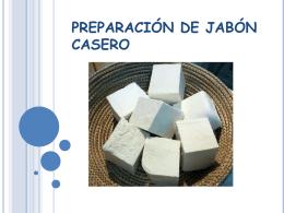 PREPARACIÓN DE JABÓN CASERO.