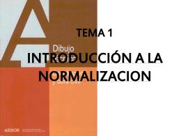 presentación normalización - ingeniería técnica industrial