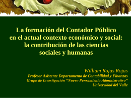 William Rojas Rojas Universidad Autonoma de Occidente