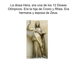 Hera era una de las diosas mas destacadas. Podemos encontrar