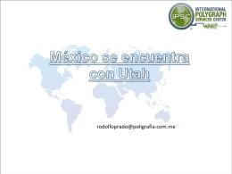 mexicoUtahespR - Entrevista e Interrogatorio