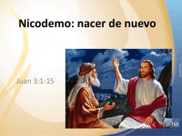 Nicodemo: nacer de nuevo
