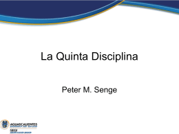 La Quinta Disciplina - Gobierno de Aguascalientes