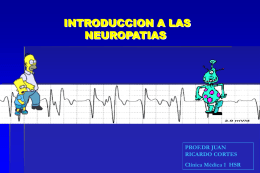 Neuropatias - Unidad Hospitalaria San Roque