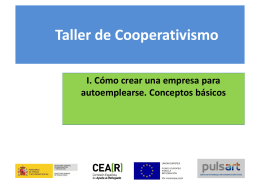 Cooperativismo como herramienta para el desarrollo