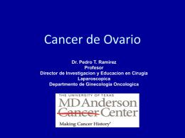 Ovarian Cancer - MD Anderson Cancer Center