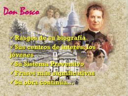 Don Bosco y su obra