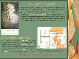 HISTORIA Y REALIDAD Vs. PRESENTE Y ENGAÑO