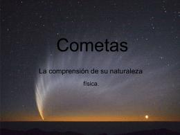 Que es un cometa?