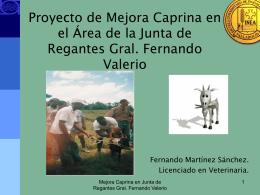 Proyecto Caprino Dominicano