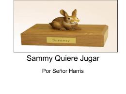 Sammy Quiere Jugar