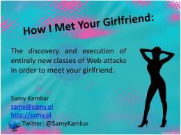 20 bits - Samy Kamkar