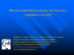 Microvariabilidad extrema de blazares: realidad y ficción