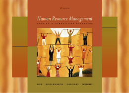 Human Resource Management 5/e