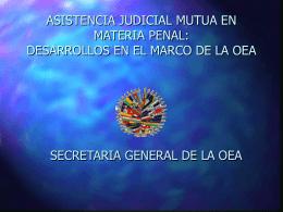Solicitudes de Asistencia Judicial Mutua