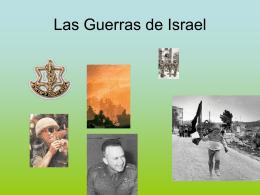 Clase 6 y 7 - Las Guerras de Israel