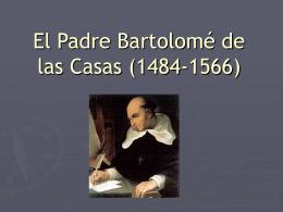 El Padre Bartolomé de las Casas