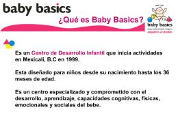 ¿Qué es Baby Basics?