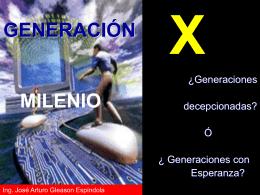 Generación X, 1964-1984