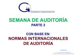 nias - Auditoría