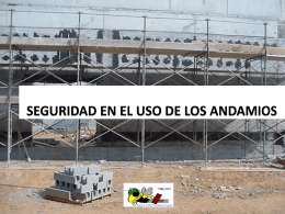 SECCION L ANDAMIOS - Georgia Tech OSHA Consultation Program