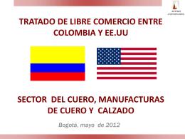 EL SECTOR, CUERO, MANUFACTURAS DE CUERO Y CALZADO