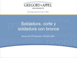 Norma 29 CFR Sección 1910,251-254