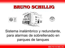 Slide 1 - Bruno Schillig