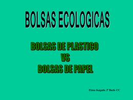 Bolsas de papel - Colegio Cooperativa San Saturio