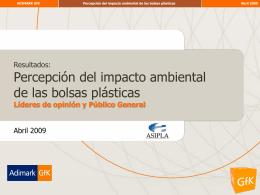 Estudio Adimark bolsas plásticas-líderes y público general