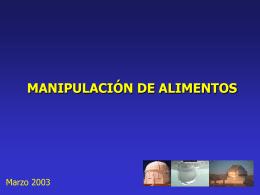 N° 09 Manipulacion de Alimentos