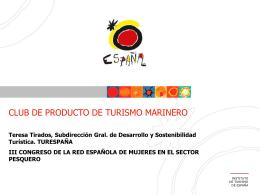 Club de producto de Turismo Marinero