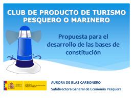 Club de Producto Turismo Pesquero o Marinero