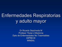 Enfermedades respiratorias y 3ª edad