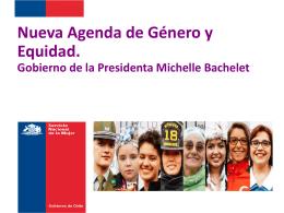 Nueva Agenda de Género y Equidad