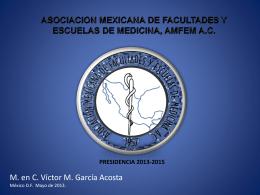 Presentación de Víctor García