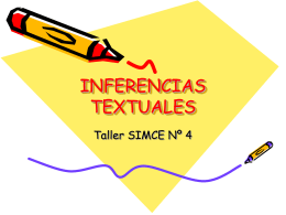 Taller 4, inferencias