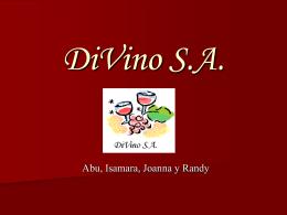 DiVino S.A. - CLASE DE LA DRA. MOCTEZUMA