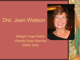 Dra. Jean Watson - Verónica Bracho