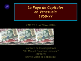 La Fuga de capitales en Venezuela