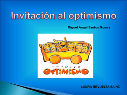 Invitación al optimismo (Laura Revuelta)