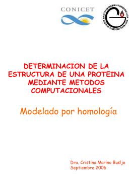 ESTRUCTURA TRIDIMENCIONAL DE PROTEINAS
